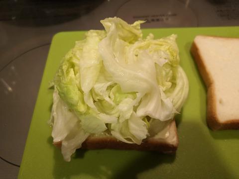 レタスサンドイッチ (3)
