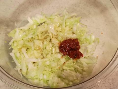 ピリ辛塩キャベツ (5)