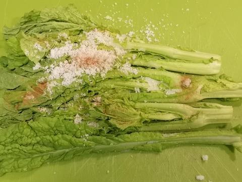 菜の花のシナモン漬け (2)