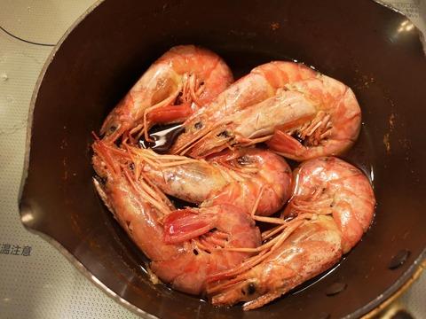 赤エビの含め煮 (8)