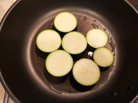 ズッキーニの味噌焼き (4)