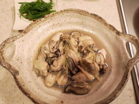 牡蠣の酒蒸し (5)