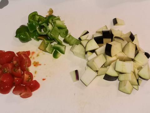 ナスの焼きサラダ (3)