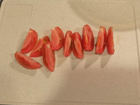 トマトのケチャップ和え (2)