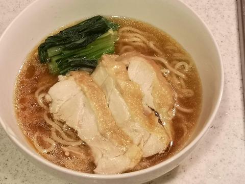 鶏醤油ラーメン (14)