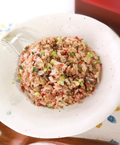 紅ショウガ炒飯 (1)
