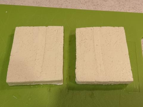 木綿豆腐のチーズ挟み焼き (2)