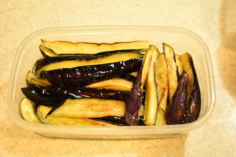 茄子の香味冷菜 (7)