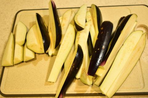 茄子の香味冷菜 (2)