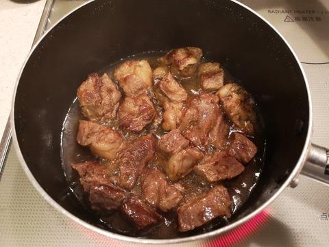 牛肉の酒蒸し (6)