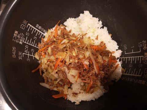 キャベツたっぷり混ぜご飯 (6)