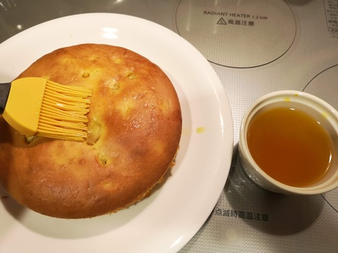 蜜漬けカボチャの蜜ケーキ (14)