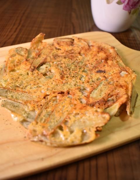 カリカリチーズごぼう (1)