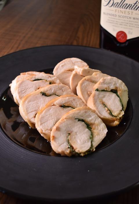 鶏むね肉の味噌ロール (0)