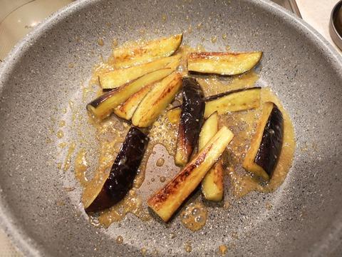 茄子の味噌バター炒め (6)