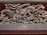 東福寺鳳凰の彫り