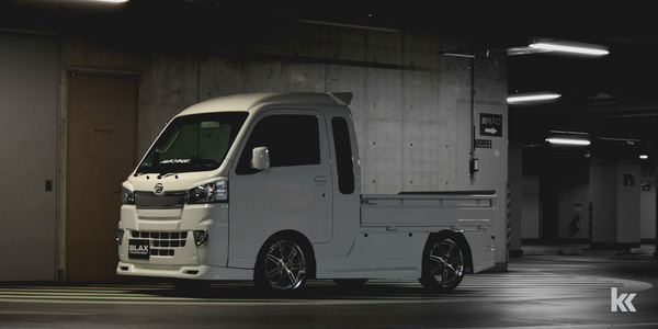 BLAX S500P Hijet Truck Jumbo Body Kit Detail