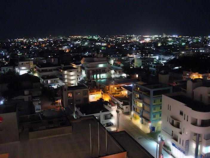 石垣市の夜景