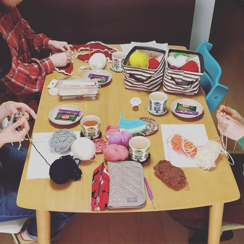 【お知らせ】4月の編み物教室開催日
