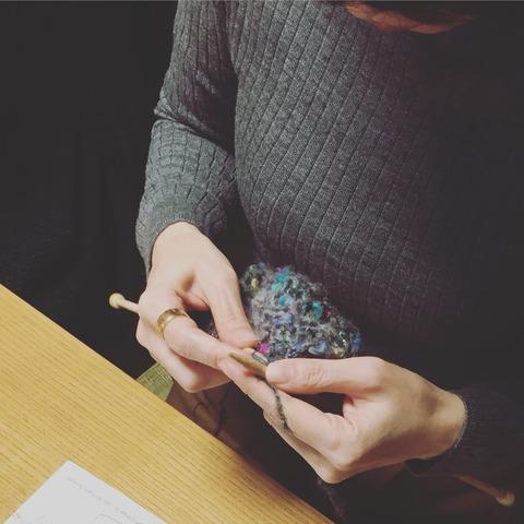 【レポート】3月6日 編み物教室、終了しました