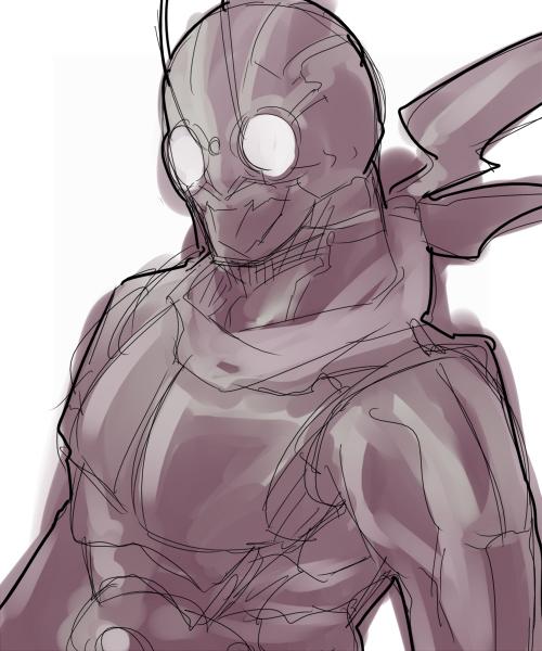 安価で仮面ライダー描く