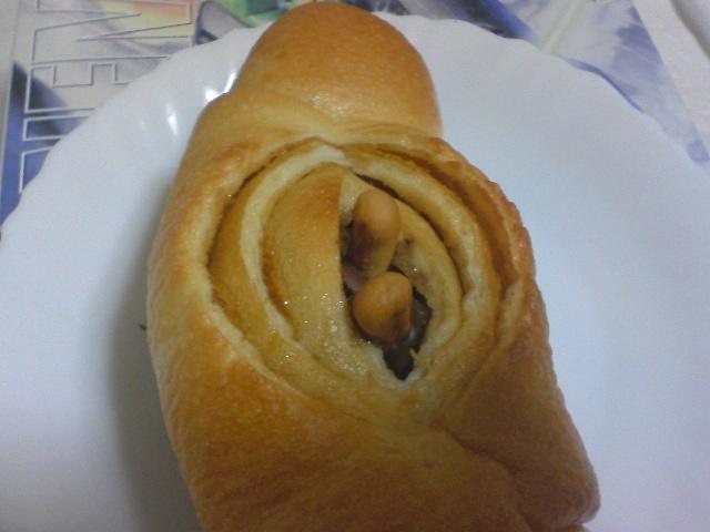 卑猥なパンを発見した
