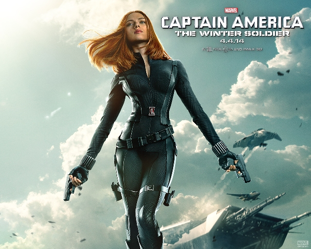 キャプテンアメリカ ウィンターソルジャー ブラックウィドウ