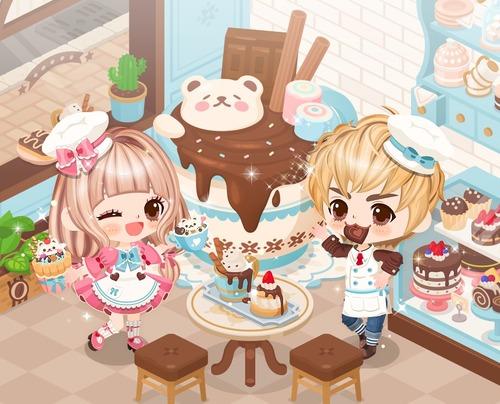 Cafe chocolat登場