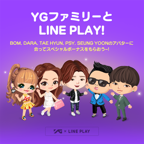 LINEPLAY x YG FAMILY_JP