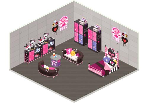 diary_Pink-Skulls