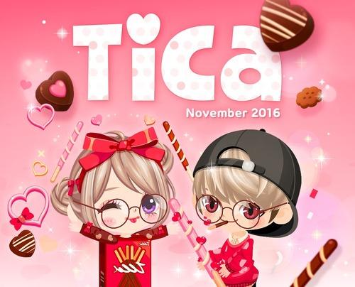 Tica 11月号発売