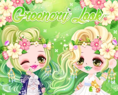 GREENERY LOOK