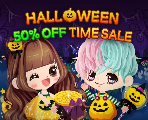 50% OFF TIME SALE!!
