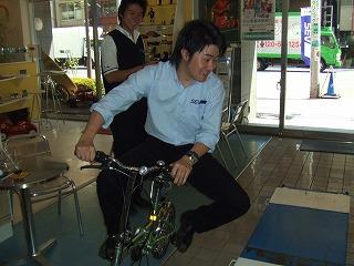 自転車 試乗山口