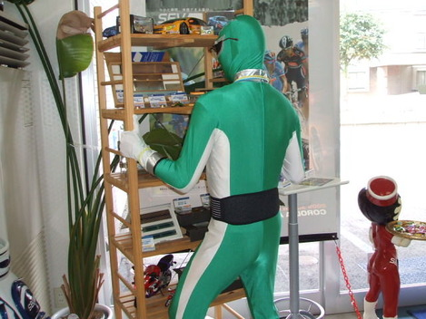 緑レンジャー