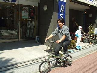 自転車 試乗木村さん