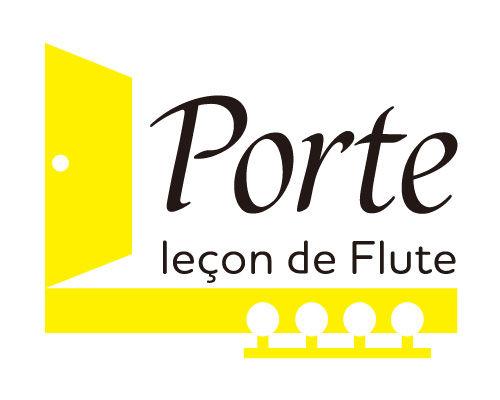 フルート教室 Porte ロゴマーク制作