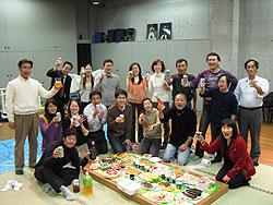 マザーシップ 沖縄三線教室 忘年会2008