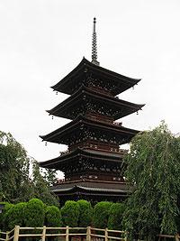 弘前・最勝院の五重塔