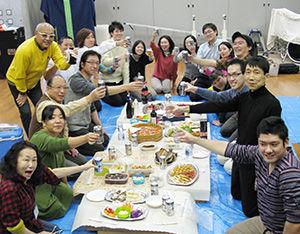 沖縄三線教室 忘年会2015