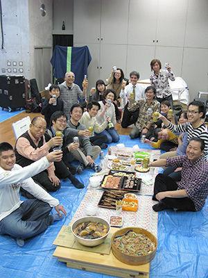 沖縄三線教室 忘年会2014