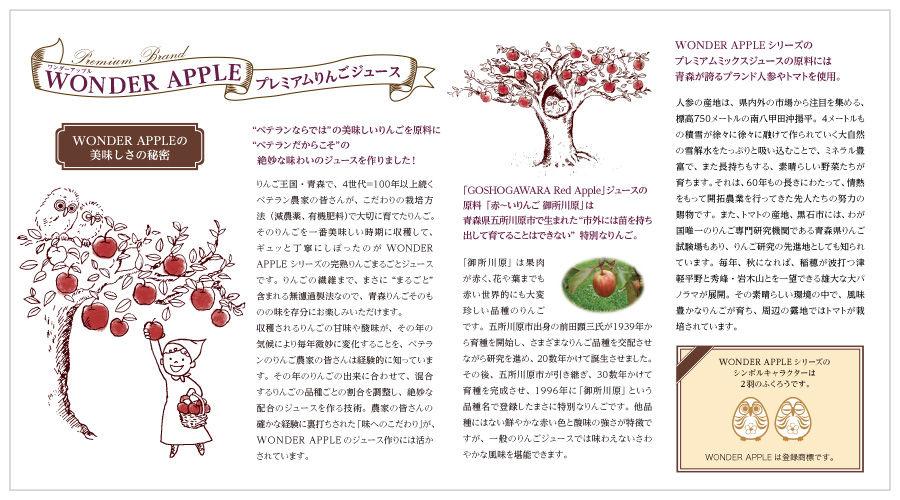 田丸麻紀さんもお気に入りの『WONDER APPLE』