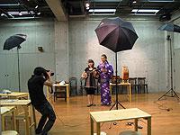 沖縄三線教室にフジテレビ広報局さんによる取材