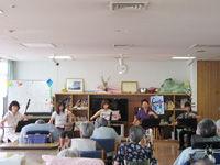 老人ホーム ボランティア演奏 50