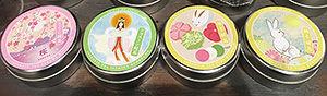 日本のお土産(お茶)のパッケージデザイン