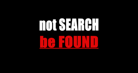 not SEARCH be FOUND