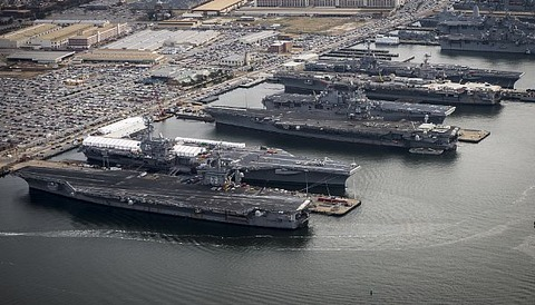 Carriers at norfolk