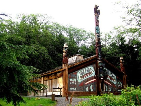 Công viên Potlatch Totem Park Alaska