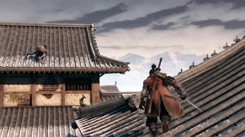 SEKIRO SHADOWS DIE TWICE - 葦名城 本城 屋根