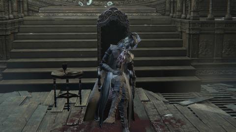 Bloodborne ボス 時計塔のマリア_1